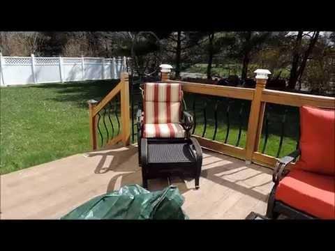 Toni's Tip ~ Storing Patio Cushions