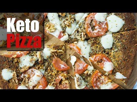 Coconut Flour Pizza Crust | Keto Pizza Recipe