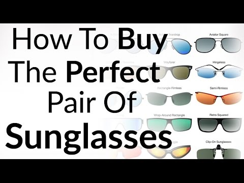 Perfect Sunglasses For Face Shape   How To Buy Right Shades   Aviator Wayfarer Sun Glass Styles