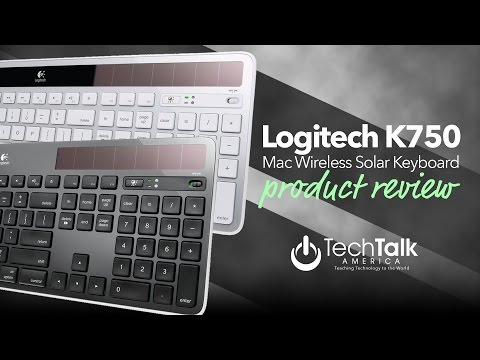 Logitech K750 Wireless Solar Keyboard for Mac [REVIEW]
