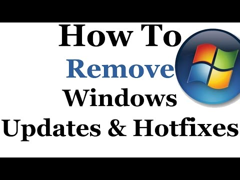 How To Remove Unwanted Microsoft Updates From Windows 7 & 8