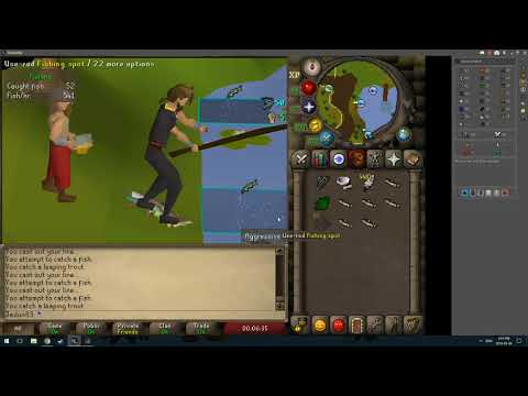 No BS quick 3 tick fishing guide OSRS