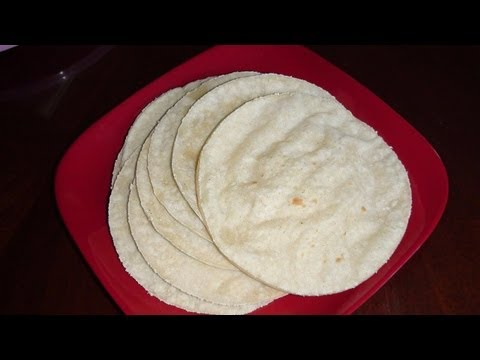 Homemade Corn Tortillas Recipe Video- Mexican Cuisine Recipes by Bhavna