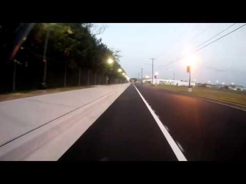 A ride down the new Batemen St bike lane - Salisbury MD