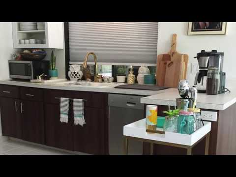 KITCHEN CABINET TRANSFORMATION | CONTACT PAPER MAKEOVER