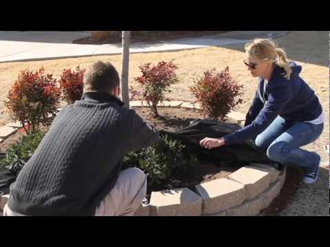 Installing Pavestone Bagged Landscape Rock