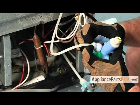 Refrigerator Water Inlet Valve (part #W10408179)-How To Replace