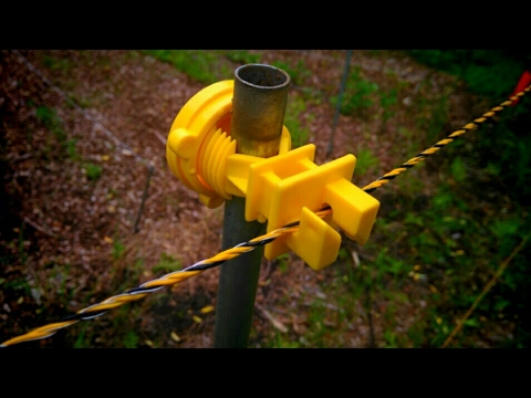Deer Electric Fence | Keeping deer out of my garden!