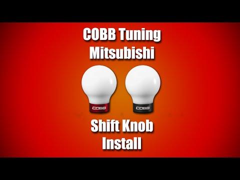 COBB Mitsubishi Shift Knob Install Video
