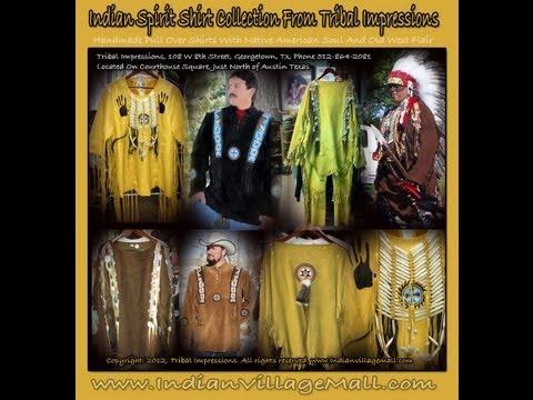 Handmade Native American Style Shirts