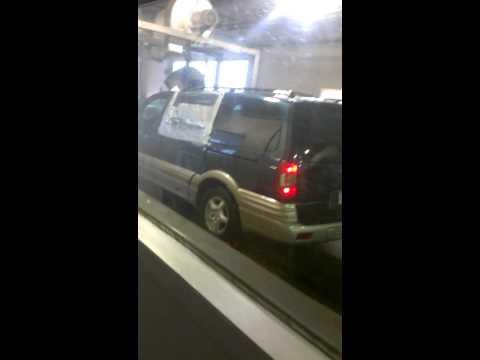 car wash, duct tape window vs dryer