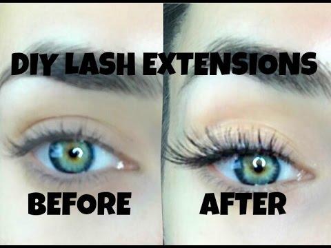 DIY LASH EXTENSIONS - LASTS UP TO 4 WEEKS