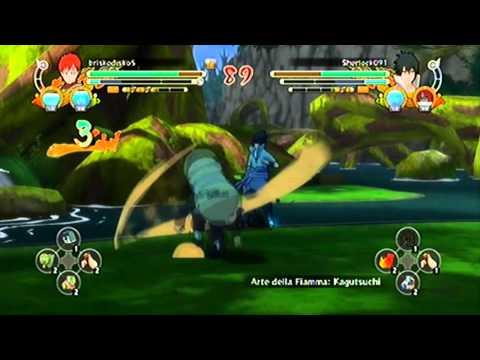 Naruto Ultimate Ninja Storm 3 ( Online Match ) The power of Mangekyou Sharingan