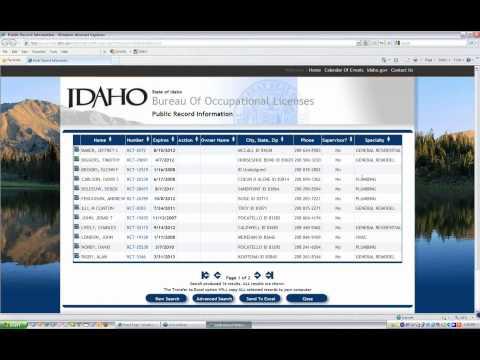 Identifying Licensed Contractors in Idaho