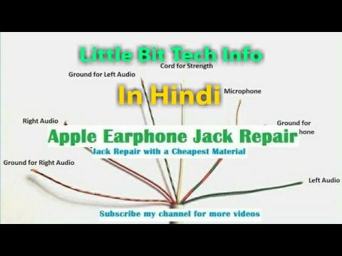 Apple iphone Earphones & Earpods jack repair || Headphone Repair