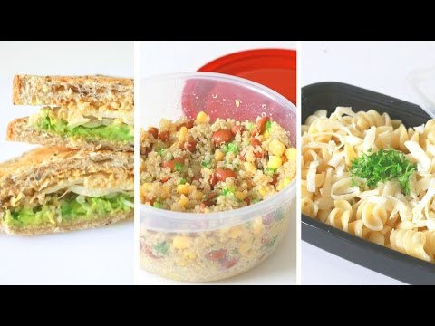 Healthy & Easy Lunches // For School Or Work