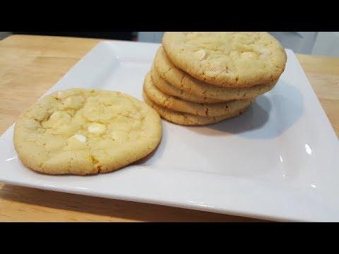 White chocolate chip cookies | Tina's EZ recipes | Episode 20