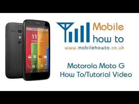 How To Setup Email Accounts - Motorola Moto G
