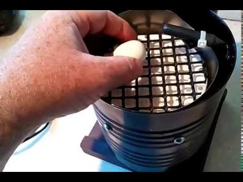 Pigeon Egg Incubator DIY Homemade From Coffee Can