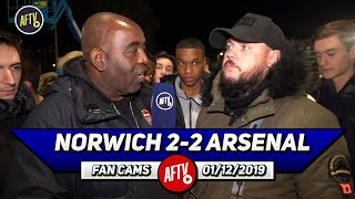 Norwich 2-2 Arsenal | We Need To Go All Out & Get Brendan Rodgers From Leicester! (DT)