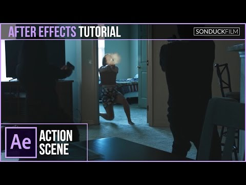 After Effects Tutorial: Gun Effects with Muzzle Flashes