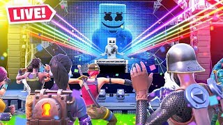 Fortnite Marshmello Event LIVE CONCERT!