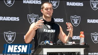 Derek Carr Signs Five-Year Contract Extension With The Raiders
