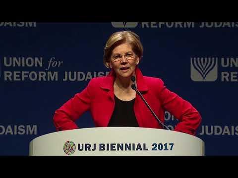 Senator Elizabeth Warren - Biennial 2017