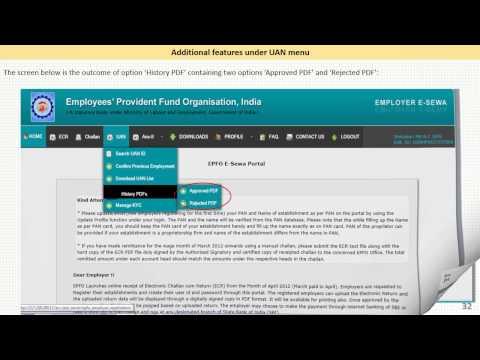 Universal Account Number (UAN) Programme