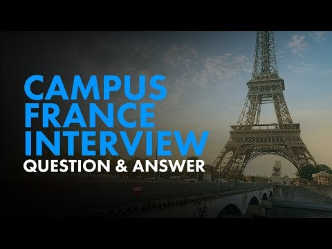 Campus France Interview - Video