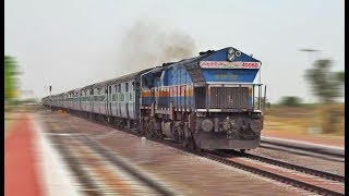 FAST AND FURIOUS EMD : 22472 DEE - BKN SF Intercity Express | Indian Railways