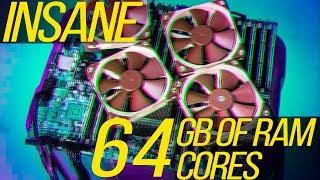 $650 64-Core Quad Socket Gaming Workstation!