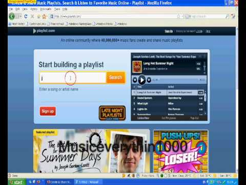 How to listen to music online(WITHOUT SIGN UP)