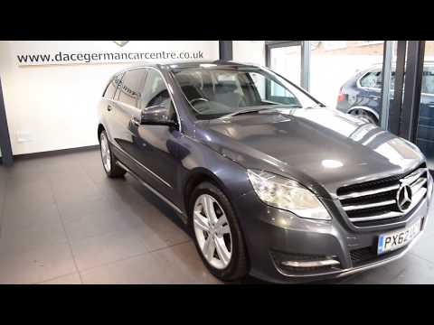 USED MERCEDES-BENZ R CLASS 3.0 R350 CDI 4MATIC 5DR AUTO 265 BHP