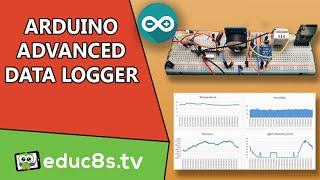 Arduino Web Server Data Logger Log Data to SD Card