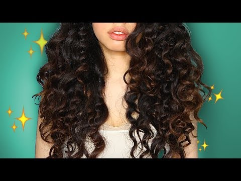 FRIZZY to CURLY Hair | GRWM