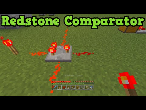 Minecraft Xbox 360 + PS3 - Redstone Comparator Explained