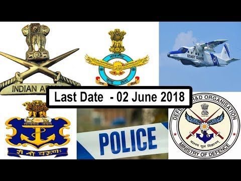 Latest Government Job 2018 All India Vacancy Defence Job 2018, Top 6 Defence job 10th Pass
