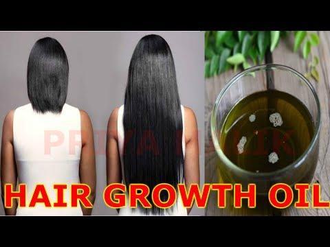 HOW TO GROW HAIR FASTER | GET LONG HAIR, THICK HAIR | MAGICAL HAIR OIL FOR HAIR GROWTH | PRIYA MALIK