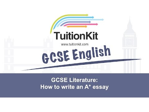 GCSE Literature: How to write the perfect essay