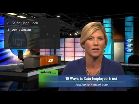 10 Ways to Gain Employee Trust