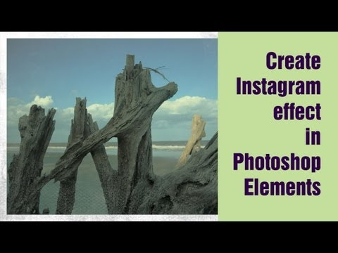 Learn Photoshop Elements - Create the Instagram Effect (circa. 1977)