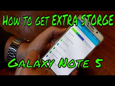 How to Get Extra Storage on the Galaxy Note 5 FREE