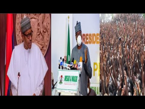 Breaking Presidency Address Nigeria On L0ck D0wn Ease, Interstate Movement, School Resumption And Ec