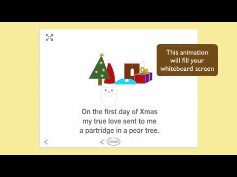 FREE Singalong Christmas Carols for Smartboard on ABC Creative Music Online