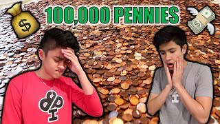 one of us lost 100,000 pennies...