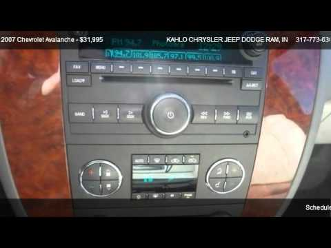 Chevrolet Avalanche K1500 @ KAHLO CHRYSLER JEEP DODGE RAM