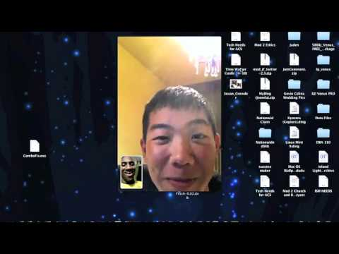 FaceTime Demo on the Mac