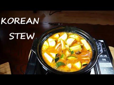 Korean Pork Stew (Jjigae) 찌개