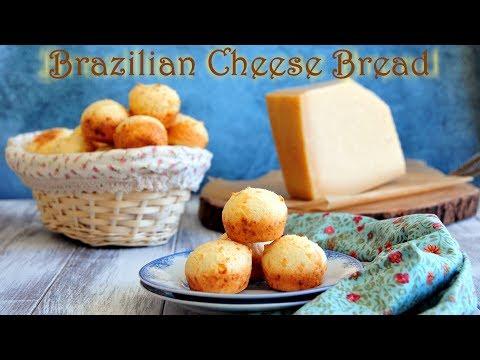 How to Make Brazilian Cheese Bread 一口芝士包 (Pão de Queijo)
